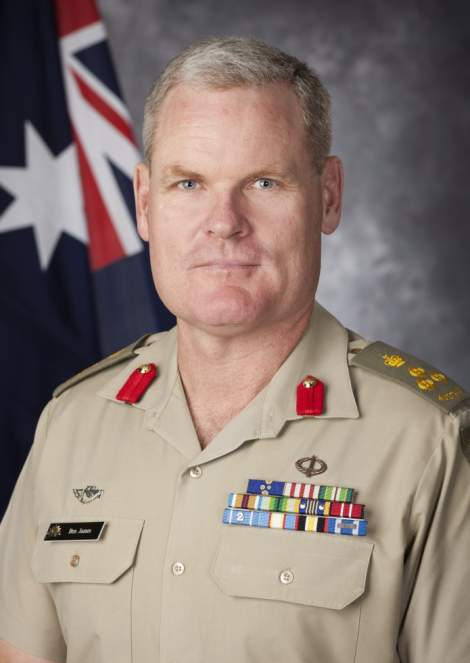 Brigadier Ben James, AM, DSM